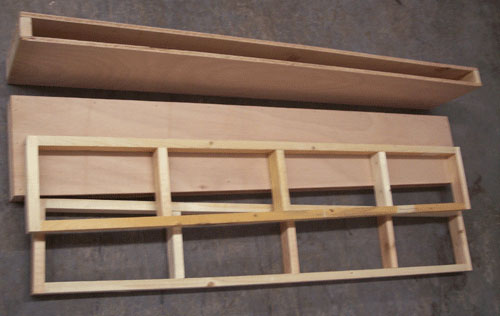 wooden shelves plans free