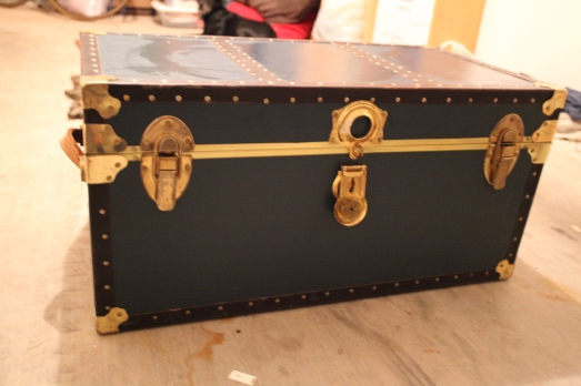 diy vintage trunk filing cabinet rad design. Black Bedroom Furniture Sets. Home Design Ideas