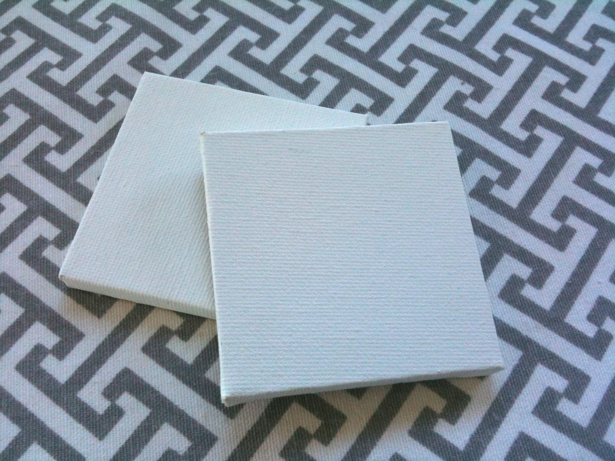 Diy mini artist canvas magnets rad design